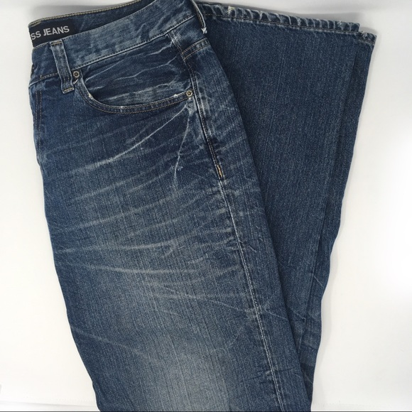 7df4c50f2fb Express Other - Express Men's Blake Loose Fit Boot Cut Jeans